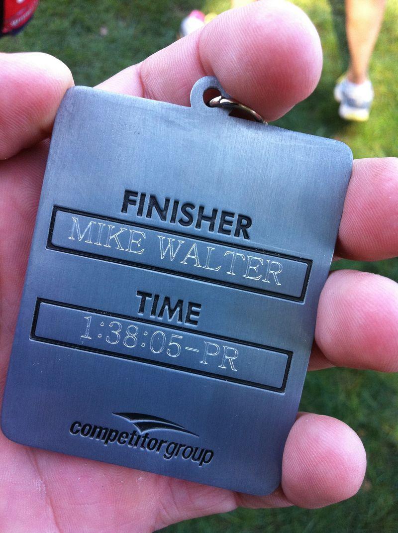 Philly half medal